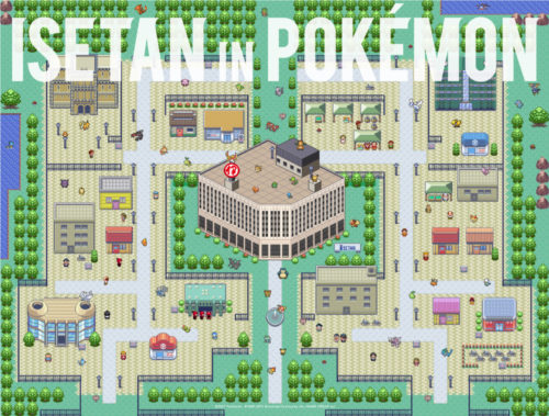 ポケモンPokemon_ISETAN