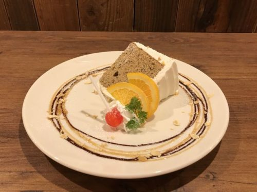 キタコレ紅茶シフォンケーキ 1,100円