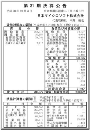 日本マイクロソフト第31期