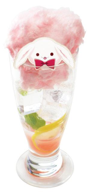 ふわふわきなこのピンクグレープフルーツソーダ(700円)