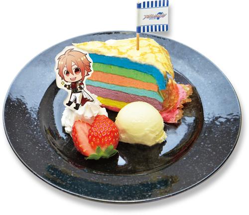 祝!アニメ化記念!!七色のIDOLiSH7ケーキ(1,000円)