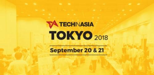 Tech in Asia Tokyo 2018