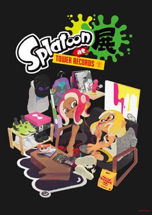 「Splatoon展at TOWER RECORDS」メインヴィジュアル