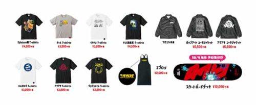 スプラトゥーン × TOWER RECORDS 渋谷店・オンライン限定コラボグッズ一覧