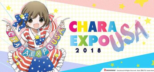 CharaExpo USA 2018