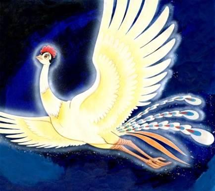 火の鳥」版画