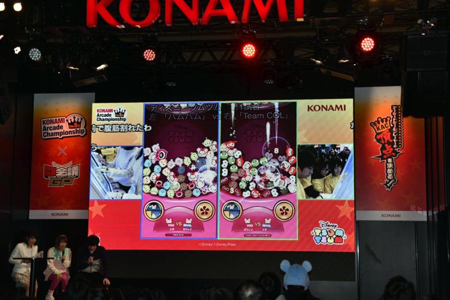 KONAMIブースステージ