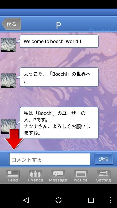 Bocchi - Fake Social Network -