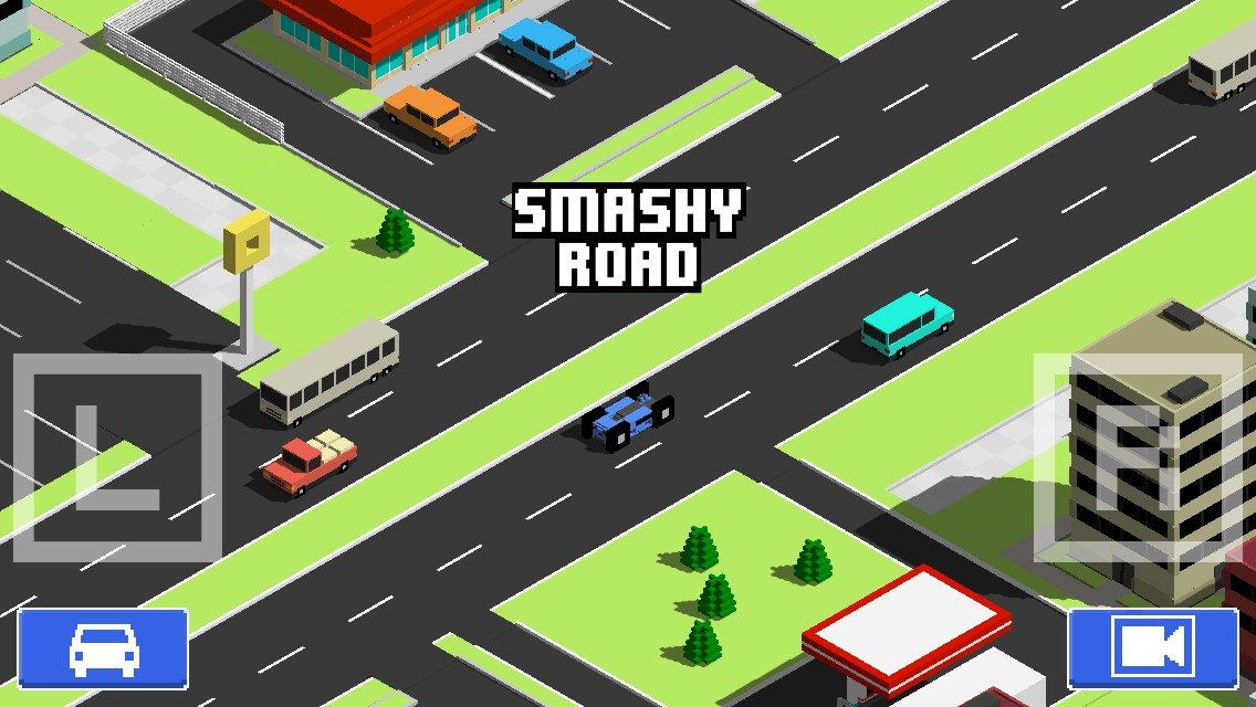 Smashy Road: Wanted