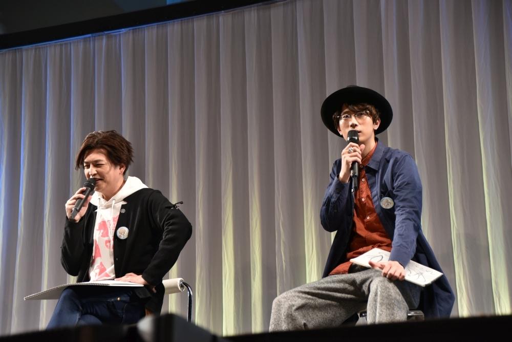 緑川光さんと江口拓也さん