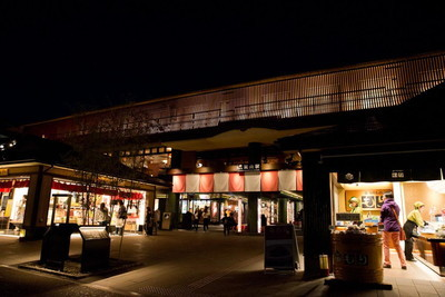 嵐電嵐山駅
