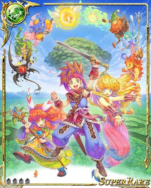 『ドラゴンジェネシス -聖戦の絆-』『聖剣伝説』シリーズとのコラボ