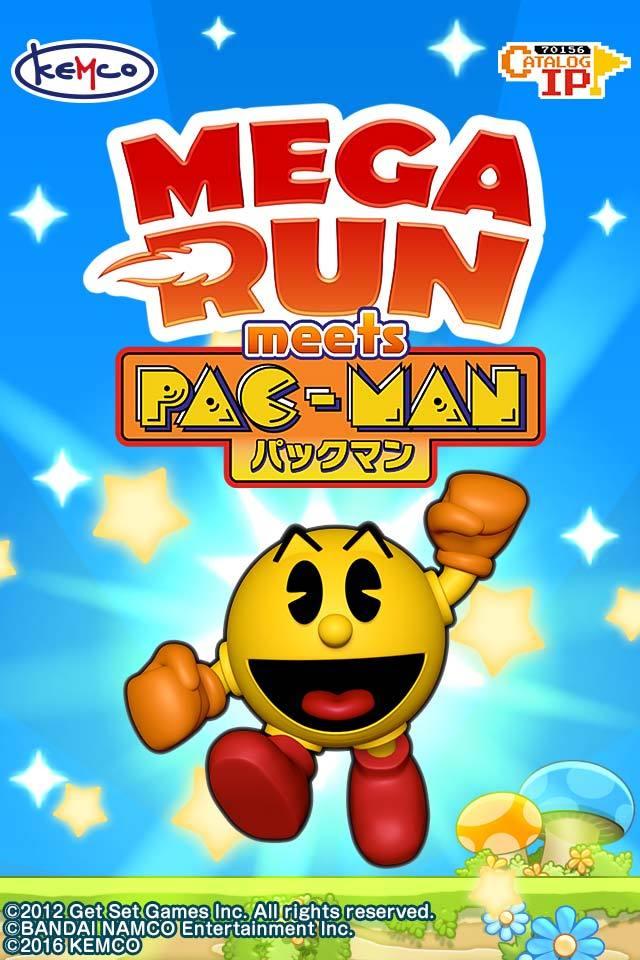 Mega Run meets パックマン