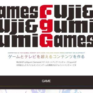 Fuji&gumi Games