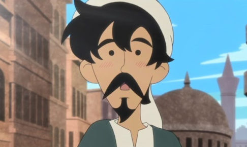 アニメ「きこりと宝物」