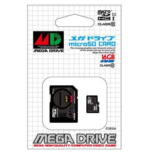 メガドライブ microSDHCカード