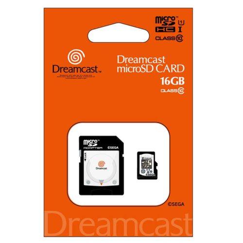 ドリームキャスト microSDHCカード