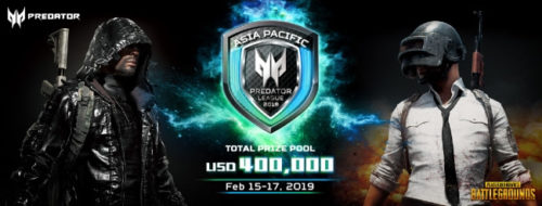 Predator League 2019 Asia Pacific
