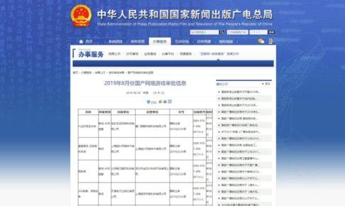 中国認可タイトル