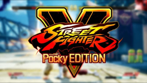 Street Fighter V Pocky Edition