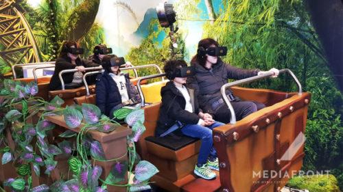 VRジャングルコースター