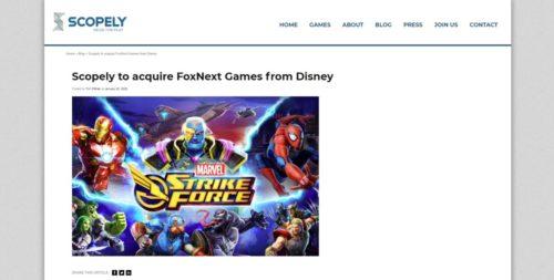 Scopely FoxNext Games