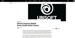 Ubisoft Kolibri Games