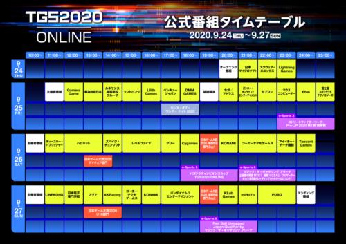 TGS2020 ONLINE