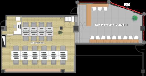 店舗内平面図