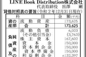 LINE Book Distribution 第7期決算