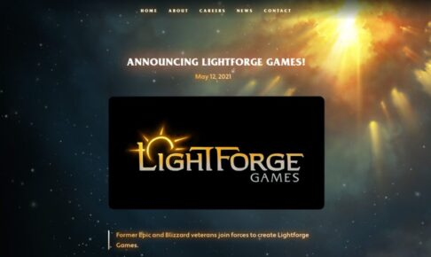 Lightforge Games キャッチ