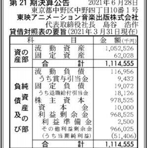 東映アニメーション音楽出版00